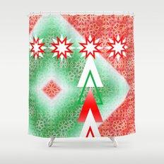 Twinkle Tree Shower Curtain