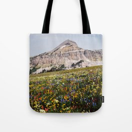 Fossil Mountain Wildflowers Tote Bag