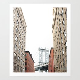 DUMBO BROOKLYN Art Print