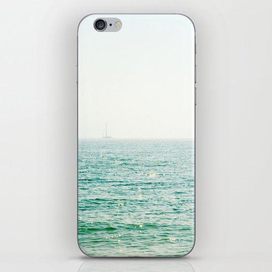 Ocean Ghost Ship iPhone & iPod Skin