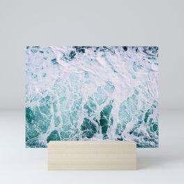 Ocean Splash III Mini Art Print
