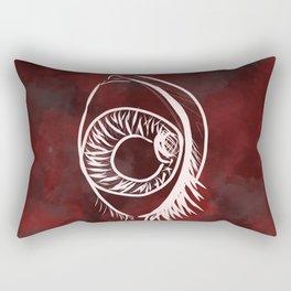 fire fleye Rectangular Pillow