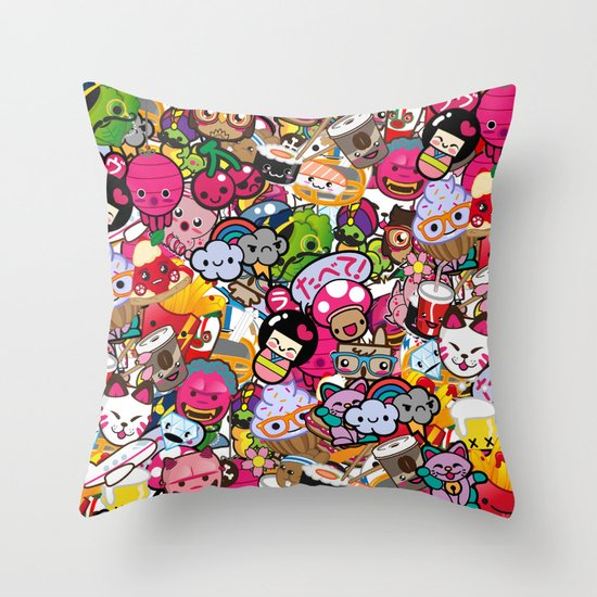 Supercombo #2 Throw Pillow