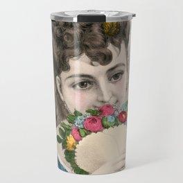 Under the Rose Travel Mug