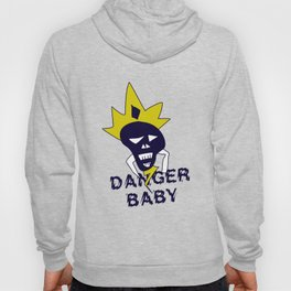 Danger baby - Skull funny design #society6 #decor #buyart #artprint Hoody