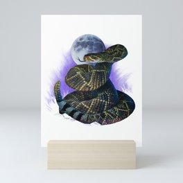 Moonlight Diamondback Mini Art Print