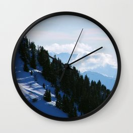 Steep Hills Wall Clock