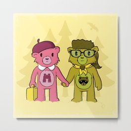 Sam & Suzy Metal Print