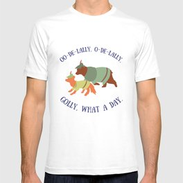Robin Hood and Little John T-shirt