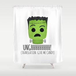 Frankenstein Wants Candy Shower Curtain