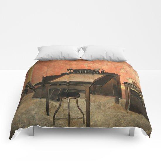 Antique Nautical Desk  Comforters