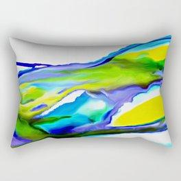 By the Seashore Rectangular Pillow