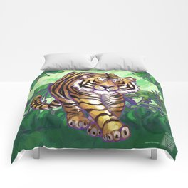 Animal Parade Tiger Comforters