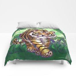 Animal Parade Tiger Comforters