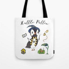 Huffle Puffin, HP, Fan Art, Puffins, Puffin, Illustration, Magic Tote Bag