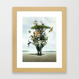 Savana Framed Art Print
