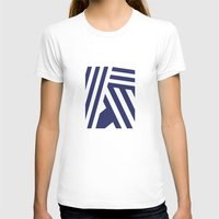 nautical T-shirts featuring Nautical Stripes by Charlene McCoy