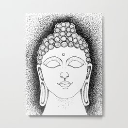 Awakened One - Buddha Metal Print