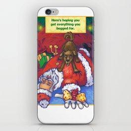 Christmas Wish iPhone Skin