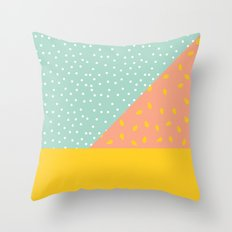 80's Abstract 1 Throw Pillow