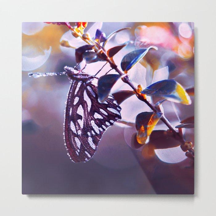 Silver Wings Metal Print