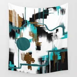 Deco Night Wall Tapestry