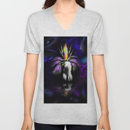 Atrium - Blooming fantasy Unisex V-Neck