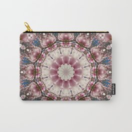 Spring blossoms, Flower Mandala, Floral mandala-style Carry-All Pouch