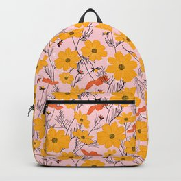 Cosmea orange Backpack
