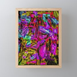 Tropic Abstract Framed Mini Art Print