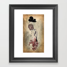 Red Roots Framed Art Print