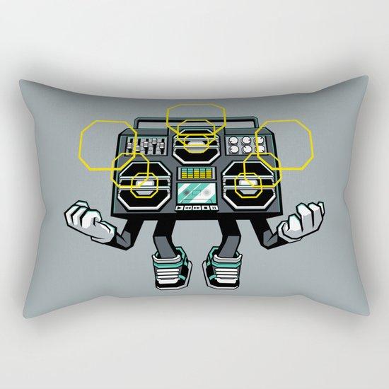 Rise And Amplify Rectangular Pillow