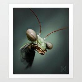 Mantis 2 Art Print