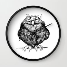 Owl Ball Wall Clock
