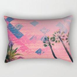 NL 4 2 Palm Trees Rectangular Pillow