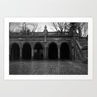 central park Art Prints featuring central park by Angel Photography NYC (Nicole Coletti)