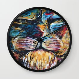 Lion face original Wall Clock