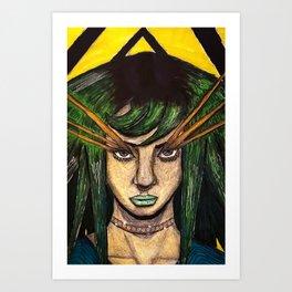 Hypnotic Insight Art Print