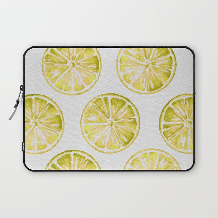 Yellow Citrus Laptop Sleeve