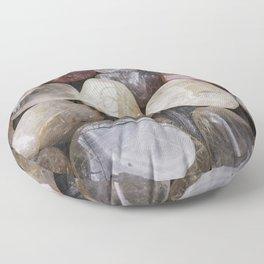 Venus' Hair Stone Rutilated Quartz #2 Floor Pillow