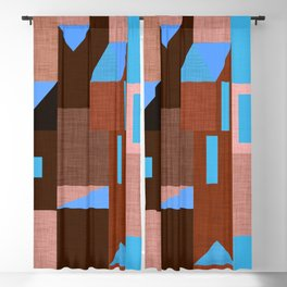 Brown Klee houses Blackout Curtain