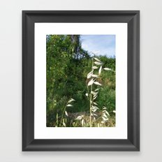 bend but do not break Framed Art Print