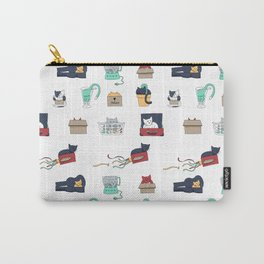 Contain Yourself -- Pattern Carry-All Pouch