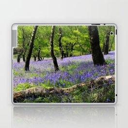 Bluebell Wood. Laptop & iPad Skin