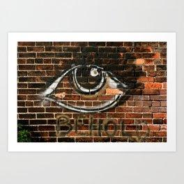 Beauty is in the Eye  Art Print