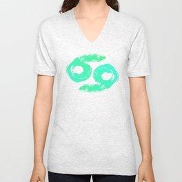 Zodiac sign Cancer Unisex V-Neck