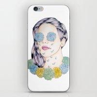 ellie goulding iPhone & iPod Skins featuring ELLIE GOULDING  by Aidan Reece Cawrey