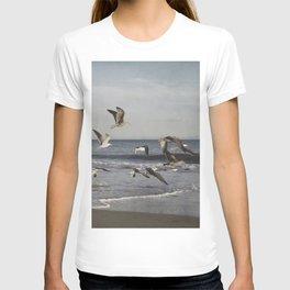 Seagulls in Flight T-shirt