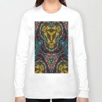 dress Long Sleeve T-shirts featuring Dress by RingWaveArt