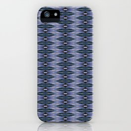 Glitch Pattern 1 iPhone Case